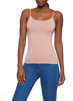 Solid Cotton Cami - 5201054263001