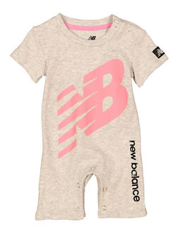Baby Girls New Balance Graphic Romper - 5501061950003