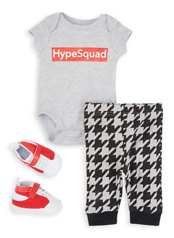 Baby Boys Hype Squad Bodysuit and Joggers Set - 5506076258778