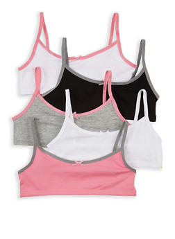 Girls 4-16 Set of 3 Cami Bras | 5568054731000 - 5568054731000