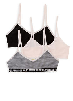 Girls 4-16 Graphic Band Seamless Bras - 5568054731054