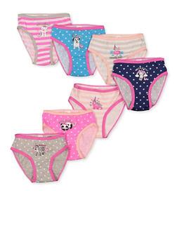 Girls 4-6x Day of the Week Panties - 5568054731801