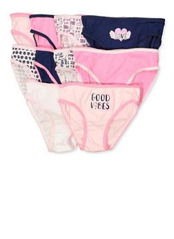 Girls 7-16 10 Pack Assorted Panties - 5568054731951
