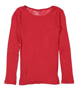 Girls 4-6x Long Sleeve Tee - 5603061950028