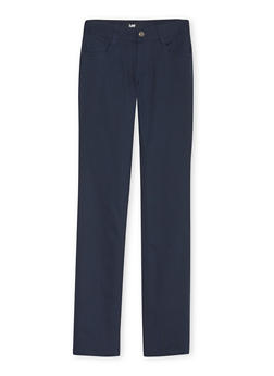 Junior School Uniform Pants with Five Pockets - NAVY - 5809008930021
