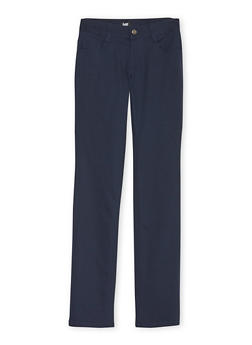 Junior School Uniform Chino Pants - NAVY - 5809008930022
