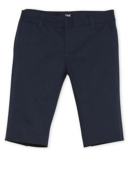 Junior School Uniform Bermuda Shorts - NAVY - 5809008930030