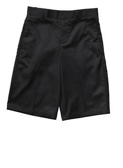 Boys 4-7 Flat Front Adjustable Waist Shorts School Uniform - 5854008930050