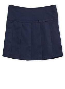 Girls 7-16 French Toast Pleated Skort School Uniform - 6816008930012