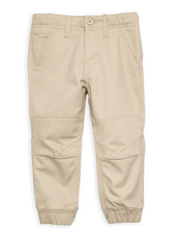 Boys 4-7 Twill Jogger Pant School Uniform - 6855008930051