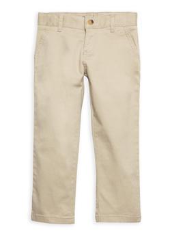 Khaki School Pants