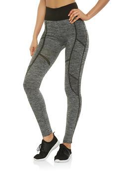 Marled Activewear Leggings - 7067059162847