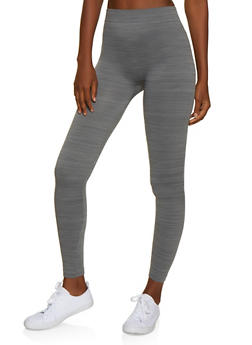 French Terry Lined Leggings | 7069041450034 - 7069041450034