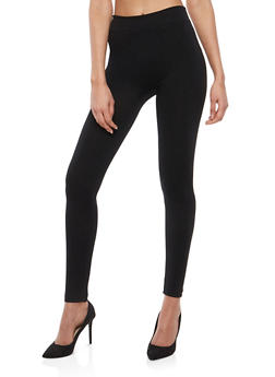Basic Black Leggings - 7069041450331