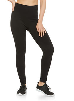 Basic Solid Leggings - 7069041452339