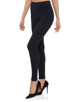 Basic Solid Leggings - 7069041452340