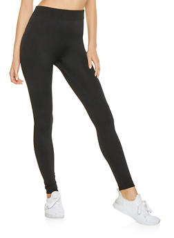 Fleece Lined Leggings - 7069041455550