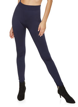 Fleece Lined Leggings - 7069041455553