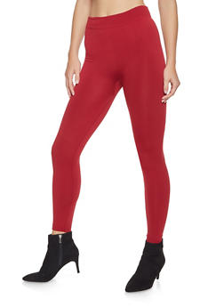 Fleece Lined Leggings - 7069041455554