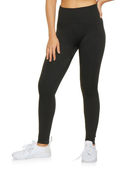 Popcorn Knit Waist Leggings - 7069041457770