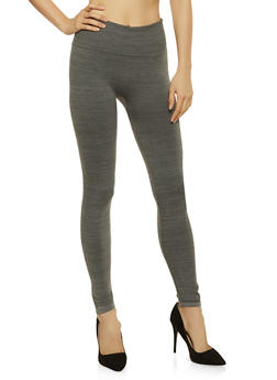 Textured Knit Leggings - 7069041457777