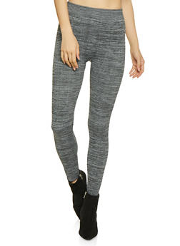 Fleece Lined Leggings - 7069059162681