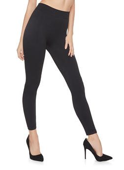 French Terry Lined Leggings - 7069059162867