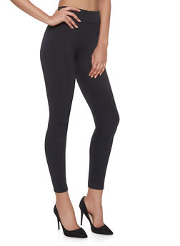 Fleece Lined Leggings - 7069059162869