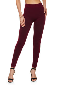 French Terry Lined Leggings | 7069059163397 - 7069059163397