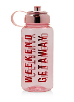Weekend Getaway Water Bottle - 7130024901509