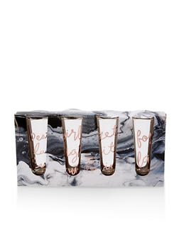 Set of 4 Shot Glasses - 7130024902691