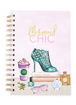 Mermaid Chic Spiral Notebook - 7130024903122