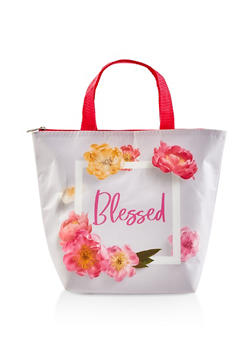 Blessed Graphic Insulated Reusable Lunch Tote Bag - 7130024903160