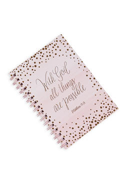 With God All Things are Possible Notebook - 7130024907767