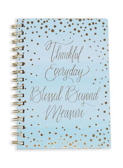 Thankful Everyday Blessed Beyond Measure Notebook - 7130024909038