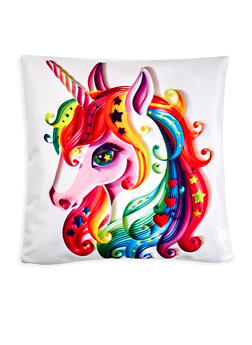 Unicorn Square Pillowcase - 7130067448034