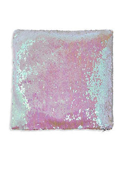 Reversible Sequin Square Pillowcase - PINK - 7130067448036