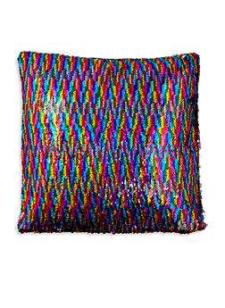 Reversible Sequin Square Pillowcase - MULTI COLOR - 7130067448036