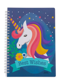 Unicorn Spiral Notebook - DENIM - 7130074172323
