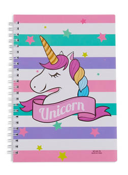 Unicorn Spiral Notebook - MULTI COLOR - 7130074172323