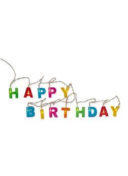 Happy Birthday LED String Lights - MULTI COLOR - 7130074176207