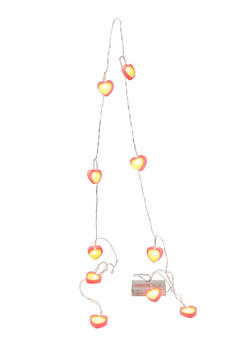 Rubber Heart String Lights - 7130074751504