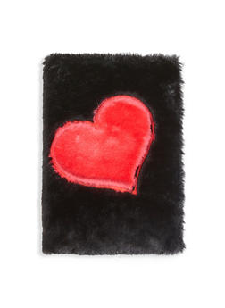 Faux Fur Heart Journal - 7130074751518