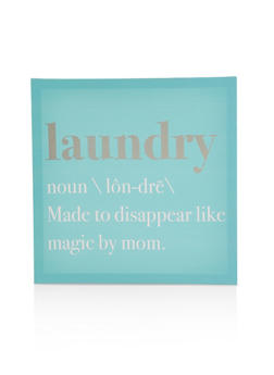 Laundry Canvas Wall Art - 7130074992414