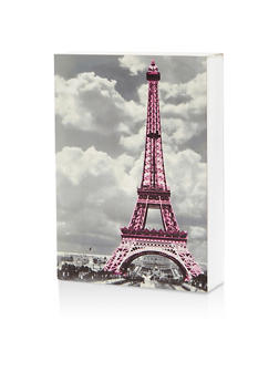 Eiffel Tower Wooden Wall Art - 7130074994151