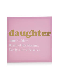 Daughter Canvas Wall Art - 7130074994191