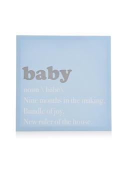 Baby Canvas Wall Art - 7130074994199