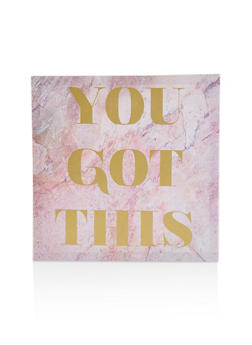 You Got This Canvas Wall Art - 7130074994205