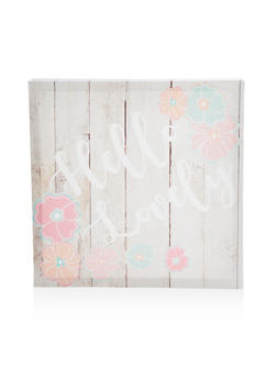 Hello Lovely Canvas Wall Art - 7130074994214