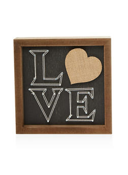 Love Wooden Wall Art - 7130074994434